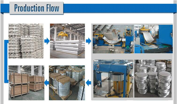 aluminum slugs production flow